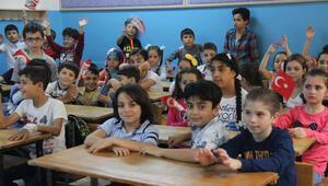 200 bin Suriyeli çocuk, çocuklarımızla aynı eğitimi paylaşıyor