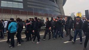 Beşiktaş taraftarı yola çıktı İlkler yaşanacak...