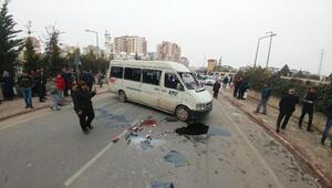 Öğrenci servisi devrildi: 14ü öğrenci 15 yaralı