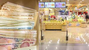 Süpermarkette düşürülen 13 bin liranın sahibi ortaya çıktı