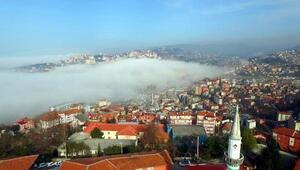 Zonguldakta yoğun sis