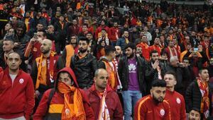 Galatasaray - Beşiktaş maçından fotoğraflar