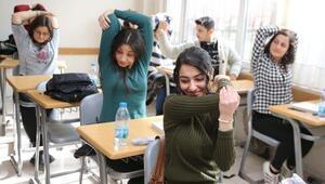 Sınav stresine karşı egzersiz