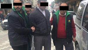 Dolandırıcıyı sivil polis yakaladı