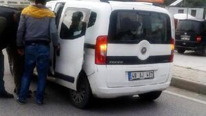 7 yaşındaki Hasret, kazada ağır yaralandı