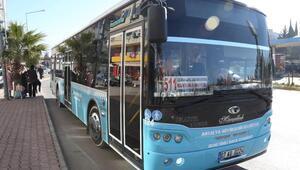 Toplu ulaşımda otobüs sayısı artıyor