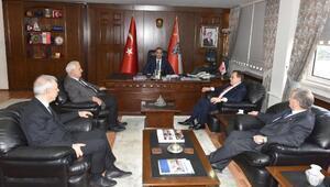 TTSO VE TTB'den Emniyet Müdürü Arıkan'a ziyaret