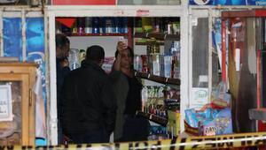 Kadın işletmecinin çığlığı silahlı soyguncuyu kaçırttı
