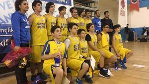 Diyarbakırlı basketçiler, bölge şampiyonu oldu