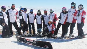 Türkiye Snowboard Dünya Şampiyonasında iddialı
