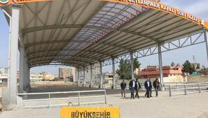 Viranşehir'de semt pazarı tamamlandı