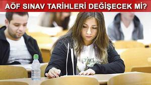 AÖF akademik sınav takvimi değişecek mi