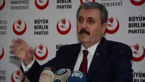 Destici: Barzani bağımsız bir devlet başkanıymış gibi karşılandı