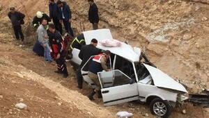 Malatya'da kaza: 1 ölü, 4 yaralı