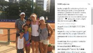 Alex de Souzadan genç tenisci Berfu Cengize destek