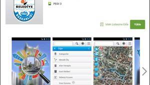 """Gelibolu Belediyesi'nden """"Keos Gelibolu"""" mobil uygulaması"""