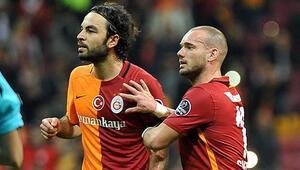 Sneijder ve Selçuk kulübeye