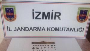 İzmirde tarihi eser operasyonu
