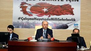 Vali Azizoğlu, işadamları ile görüştü