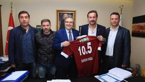 Bandırmaspordan belediye başkanına ziyaret