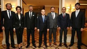 TOSFED yönetimi Bakan Kılıçı ziyaret etti