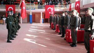 Yozgat'ta askerlerin yemin töreni
