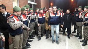 Alaattin Çakıcı 50 asker ve yoğun önlemlerle gece yarısı hastaneye getirildi