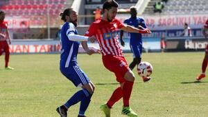 Eskişehirsporun 3 puan hasreti yine bitmedi