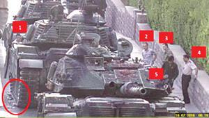 15 Temmuzun Genelkurmay görüntülerini 092660 plakalı tankla ezip yakmışlar