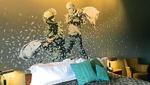 Batı Şeria'da Banksy otel