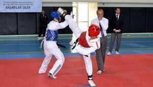 Tekvando şampiyonasına 101 sporcu katıldı