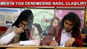 MEB YGS denemeleri ve 12 Mart sınav giriş belgeleri