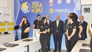 Üstün zekalı öğrencilerin okuluna Turkcellden teknoloji sınıfı