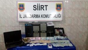 Veysel Karani Beldesinde kumar baskını: 9 gözaltı