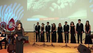 CÜde Türk Halk Müziği konseri