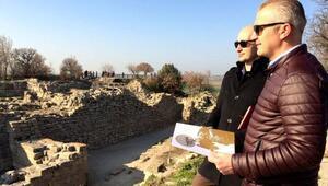 Çinli turistlerden de 2018 Troia yılı olsun çağrısı