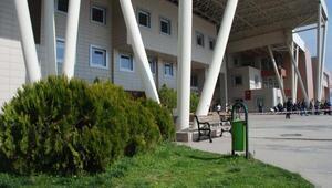Hastane bahçesinde şüpheli çanta paniği