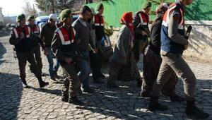 Aksarayda define avcısı 6 kişi yakalandı