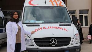 Hemşirelik öğrencisi Altın Ambulansa aday