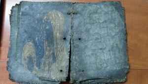 Suriyede çalınan tarihi kitap Bursada ele geçti
