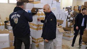 Polis böyle tepki gösterdi: Kutulardan barkodlara kadar birebir yapılıyor