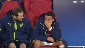 Arsenal 5inci golü yedi yıldız oyuncu külebede kahkahayı bastı
