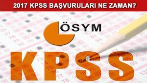KPSS başvuruları için sayılı gün kaldı- KPSS sınavı ne zaman