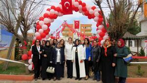 Şehit kadın polisin adının verildiği parkı, kadınlar hizmete açtı