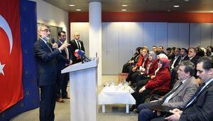 Taner Yıldız, Brüksel'de halk oylamasını anlattı