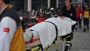 Kazada 7 kadının öldüğü otobüsün şoförü, İnegölden Bursadaki hastaneye kaldırıldı