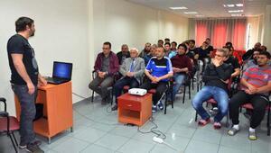 Sivasspor çalışanlarına ilkyardım eğitimi