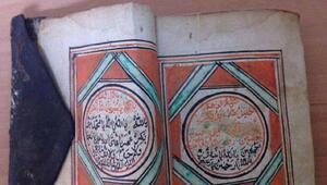 Tekirdağ'da el yazması Kuran-ı Kerim bulundu