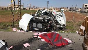 Nusaybinde trafik kazası: 1 ölü, 10 yaralı