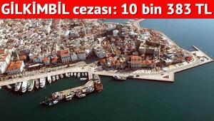 Haber vermeyen yandı GİLKİMBİL cezası 10 bin 383 lira...